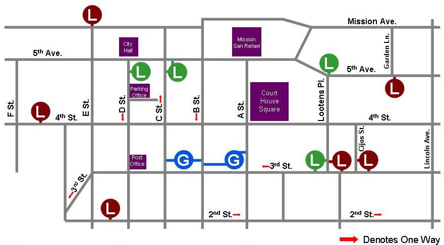 City-of-San-Rafael-Downtown-Parking