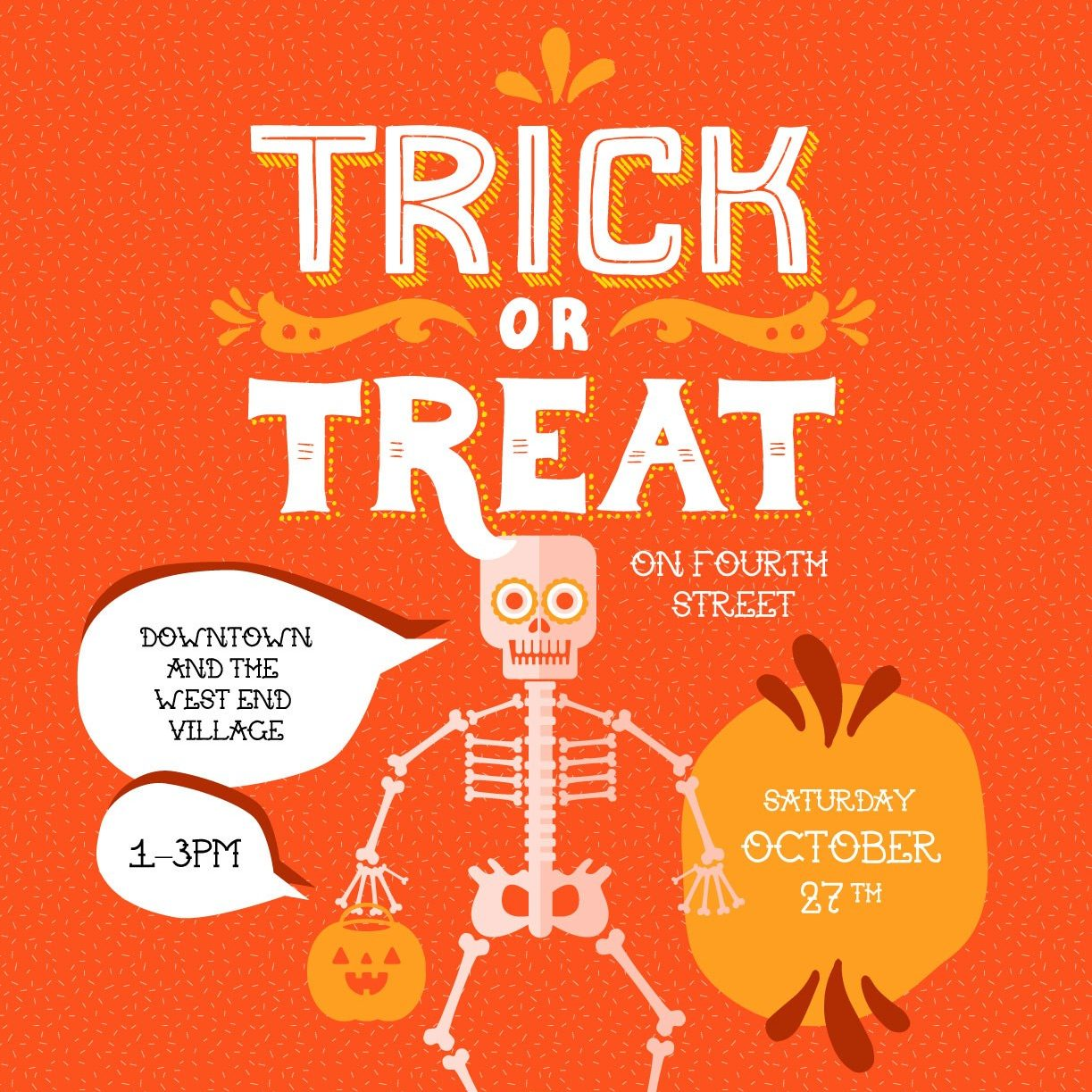 trick or treat on 4th street saturday october 27 1 3 downtown