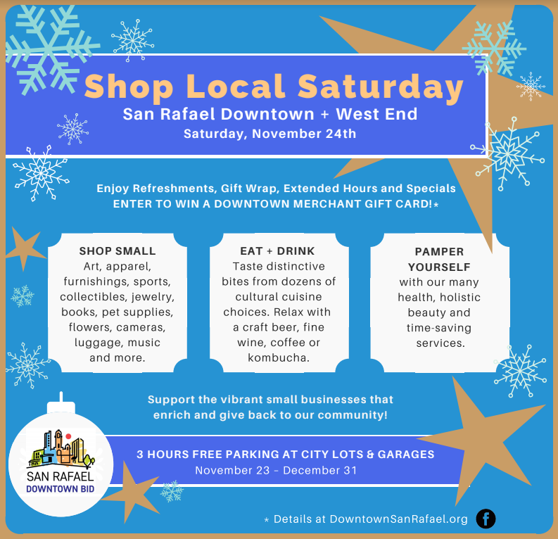 San Rafael 2018 Shop Small Shop Local