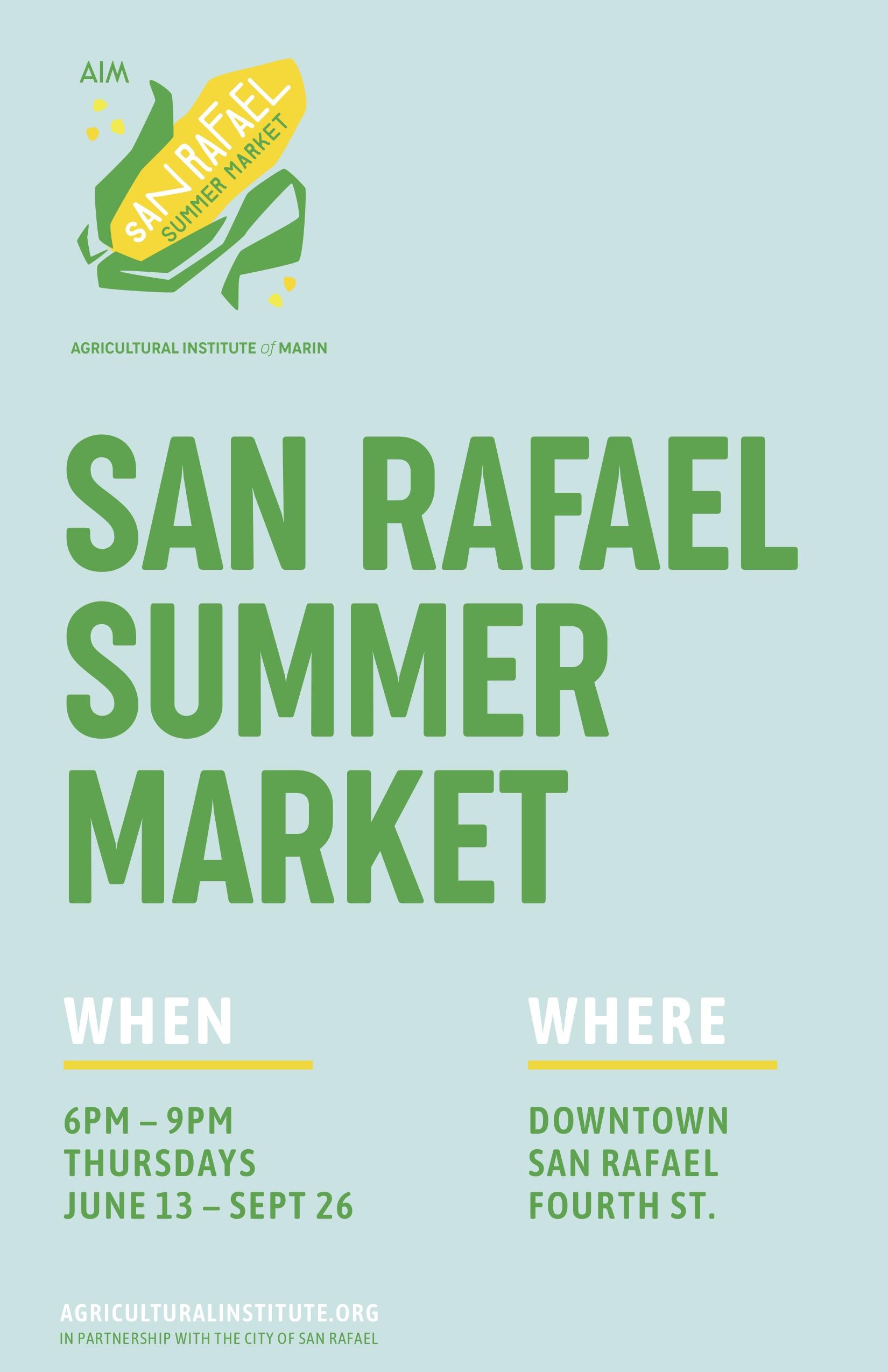 San Rafael Summer Market