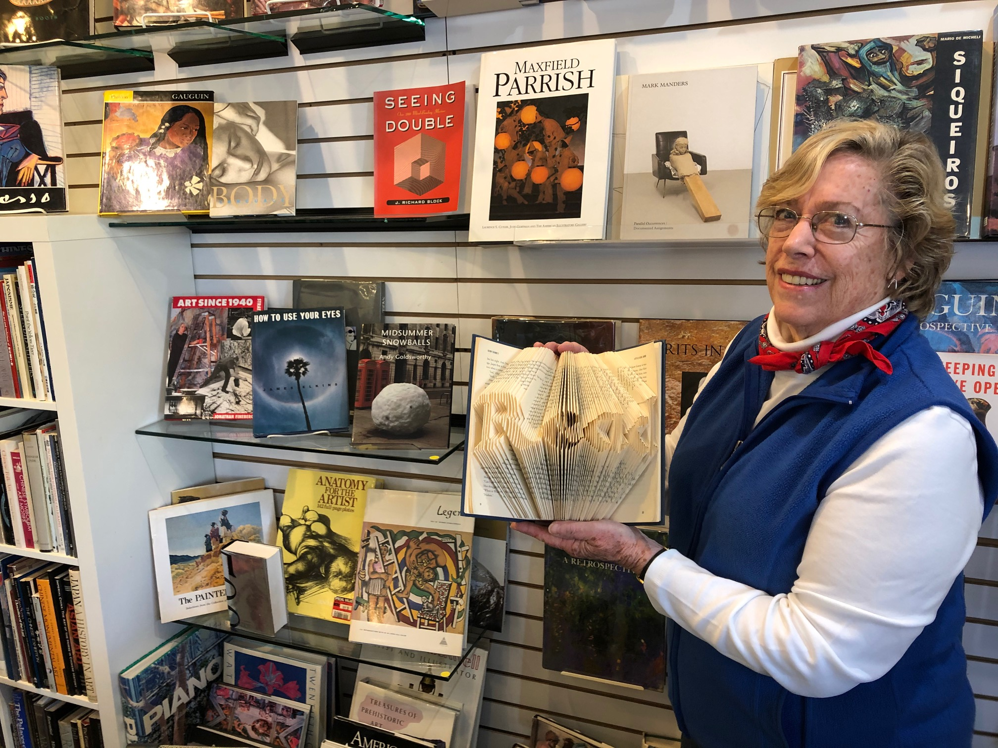 Pam Dixon, Co-manager Friends Books San Rafael
